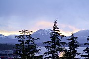 Kylani Arrington Prints - Sunset over Ketchikan Print by Kylani Arrington