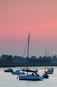 Mark Tripp - Sunset over River Alde