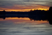 John Hassler - Sunset over Swift Creek...