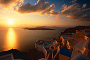 Aiolos Greek Collections - Sunset over the Aegean...