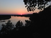 Aimee Vance - Sunset over the Missouri...