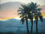 Maralyn Miller - Sunset Palms