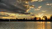 Stephen  Johnson - Sunset Pano Denver...