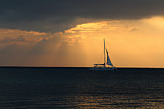 Silke Brubaker - Sunset sailing