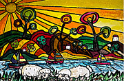 Monica Engeler - Sunset Sheep
