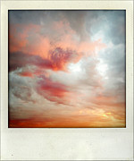 Abstract Sky Framed Prints - Sunset sky Framed Print by Les Cunliffe