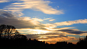 Nick Gustafson Art - Sunset Sky by Nick Gustafson