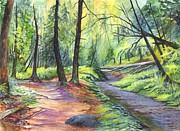 Sunset Stroll  Print by Carol Wisniewski