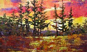 Don  Reed - Sunset Through the Pines