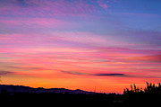 """sunset Photography"" Prints - Sunset Timestack 1 Print by La Rae  Roberts"