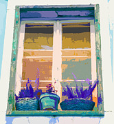 Ann Johndro-Collins - Sunset Window With...