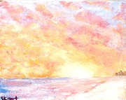 Panama City Beach Originals - Sunsets glow by Susan Hart