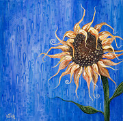 Drops Paintings - Sunshine After the Rain by Tanielle Childers