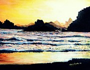 Shana Jackson Paintings - Sunshine Cove by Shana Rowe