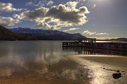 Derek Beattie - Sunshine Jetty on Loch...