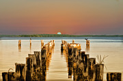 Pier Digital Art - Sunshine State Sunset by Bill Cannon