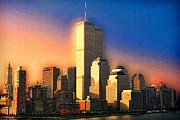 11 Wtc Framed Prints - Sunswept Framed Print by Joann Vitali