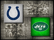 Colts Prints - Super Bowl 3 Print by Joe Hamilton