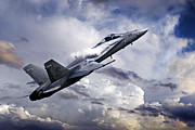 Aviation Prints - Super Hornet Print by James Biggadike
