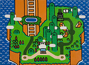 Ken Kocses Art - Super Mario World by Ken Kocses