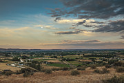 Emmett Photography Posters - Super Moon Over Emmett Valley Poster by Robert Bales