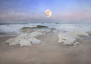 Roy Mcpeak Metal Prints - Super Moon Metal Print by Roy McPeak