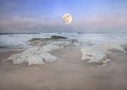 Super Moon Print by Roy McPeak