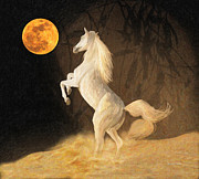 Super Moonstruck Print by Angela A Stanton