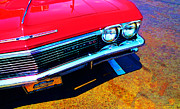 Impala Posters - Super Sport 3 - Chevy Impala Classic Car Poster by Sharon Cummings