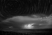 Supercell Prints - Supercell Trails Print by Jason Bates