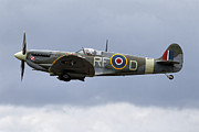 Spitfire Photos - Supermarine Spitfire Mk Vb AB910 by Andrew Harker