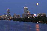 Juergen Roth - Supermoon over Boston
