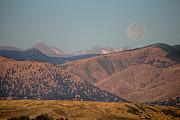 James BO  Insogna - Supermoon Over Colorado Rocky Mountains