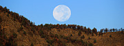 Fort Collins Art - Supermoon Set by Emily Clingman