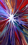 Colourful Mixed Media - Supernova by Chris Butler