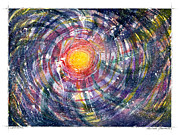 Star Burst Paintings - Supernova by Melinda Fawver