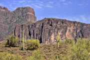 Peaks Prints - Superstition Wilderness Arizona Print by Christine Till