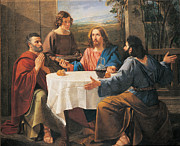 Supper At Emmaus, 1837 Print by