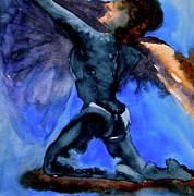 Ballet Dancers Painting Prints - Support Print by Beverley Harper Tinsley