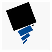 Digital Art Toronto Prints - Suprematist Composition 30 Print by Evan Steenson