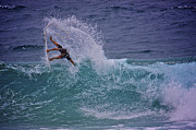Surf Photos Art Originals - Surf Art 2 by Heng Tan