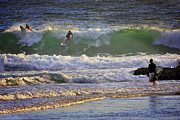 Surf Photos Art Originals - Surf Art 5 by Heng Tan