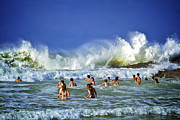 Surf Photos Art Originals - Surf Art 7 by Heng Tan