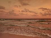 Surf - Florida Print by Sandy Keeton