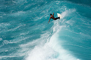 Sport Photography Originals - Surf Honolua Bay by Michael Semaan