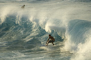 Laird Hamilton Photos - Surf Is Up Maui by Bob Christopher