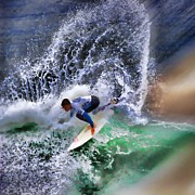 Kelly Slater Photos - Surf N Spray by RJ Aguilar