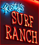 Hangouts Art - Surf Ranch Sign by Chuck Staley