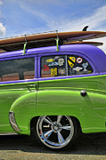 Surf Wagon Print by Kenny Francis