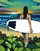 Nathan Miller - Surfer at Sunset